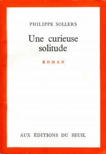 Couverture de l'ouvrage Une curieuse solitude