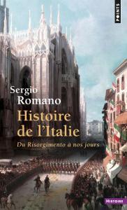 Couverture de l'ouvrage Histoire de l'Italie. Du Risorgimento à nos jours
