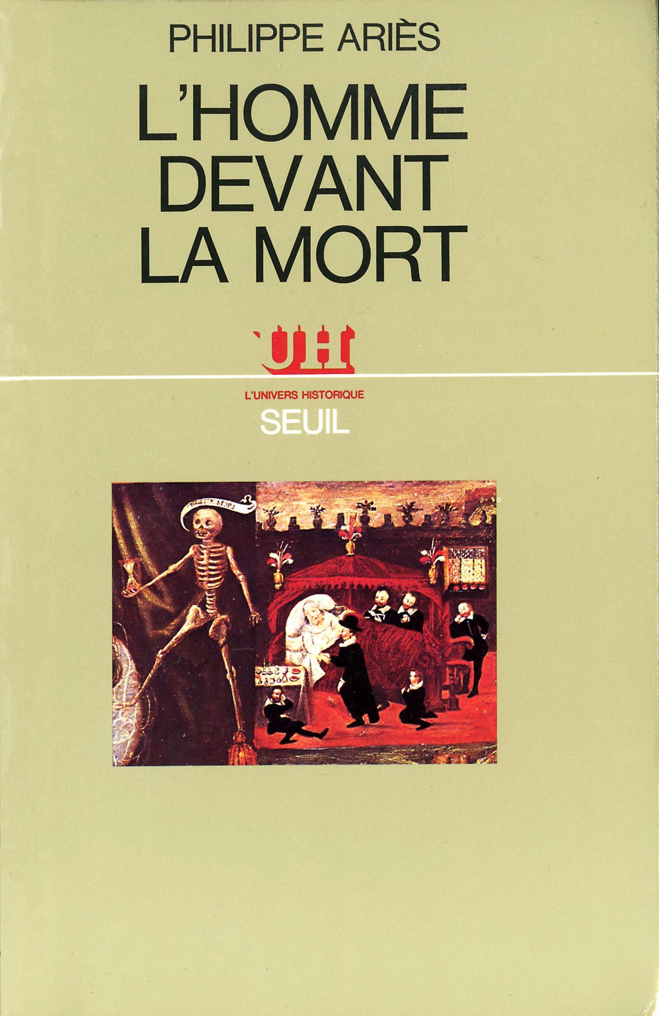 """Résultat de recherche d'images pour """"lhomme devant la mort ariès"""""""
