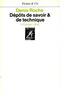 couverture Dépôts de savoir et de technique