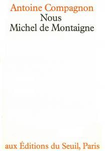 Couverture de l'ouvrage Nous, Michel de Montaigne