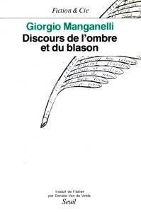 Discours de l'ombre et du blason, ou du lecteur et de l'écrivain considérés comme déments