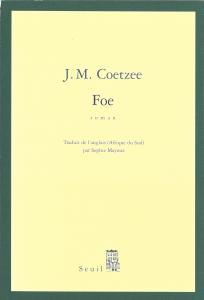 Couverture de l'ouvrage Foe