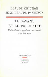 couverture Le Savant et le populaire