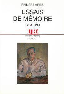 Couverture de l'ouvrage Essais de mémoire (1943-1983)