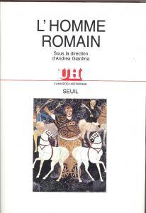 Couverture de l'ouvrage L'Homme romain