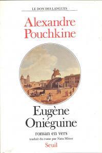 couverture Eugène Oniéguine. Roman en vers