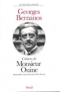 couverture Les Cahiers de Monsieur Ouine