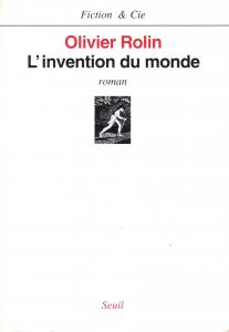 couverture L'Invention du monde
