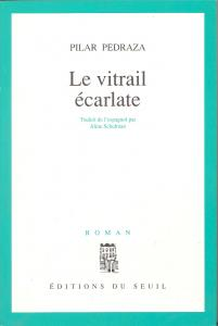 couverture Le Vitrail écarlate