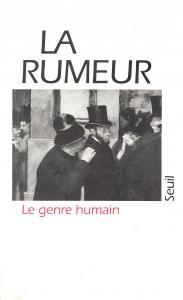 Couverture de l'ouvrage La Genre humain, n° 05