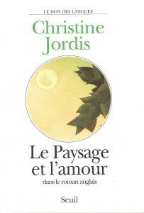 couverture Le Paysage et l'Amour dans le roman anglais