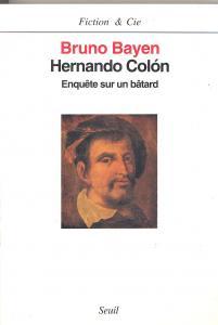 couverture Hernando Colón. Enquête sur un bâtard