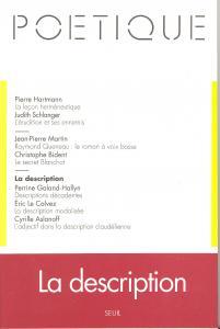 couverture Poétique, n° 099