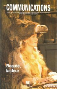 Couverture de l'ouvrage Communications, n° 60,  Beauté-Laideur