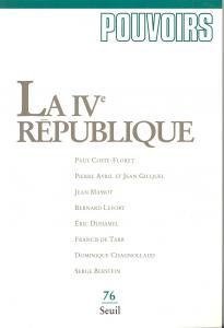 couverture Pouvoirs, n° 076