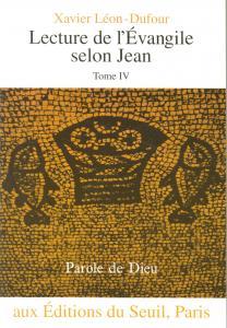 Couverture de l'ouvrage Lecture de l'Evangile selon Jean