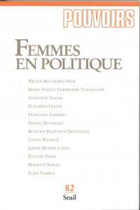 Couverture de l'ouvrage Pouvoirs, n° 082, Femmes en politique