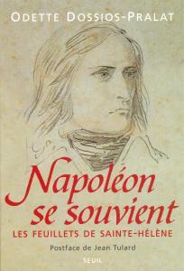 Couverture de l'ouvrage Napoléon se souvient. Les feuillets de Sainte-Hélène