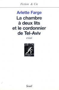 Couverture de l'ouvrage La Chambre à deux lits et le Cordonnier de Tel-Aviv