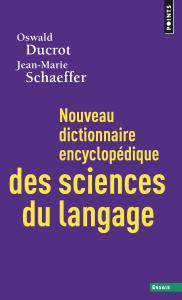 Couverture de l'ouvrage Nouveau dictionnaire encyclopédique des sciences du langage