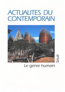 couverture Le Genre humain, n° 35, Actualités du co...