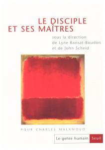 couverture Le Genre humain, n° 37, Le Disciple et s...