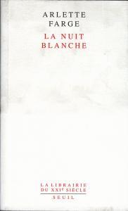 Couverture de l'ouvrage La Nuit blanche