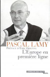 Couverture de l'ouvrage L'Europe en première ligne
