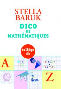 Couverture de l'ouvrage Dico de mathématiques