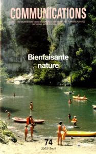 couverture Communications, n° 74, Bienfaisante Nature