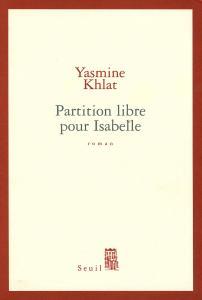 Couverture de l'ouvrage Partition libre pour Isabelle