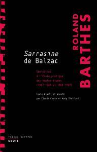 Sarrasine de Balzac