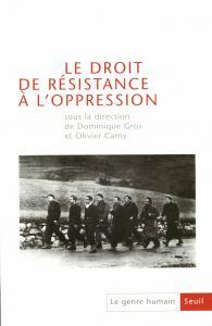 couverture Le Genre humain, n° 44,  Le Droit de rés...