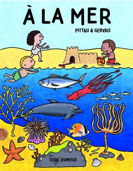 Couverture de l'ouvrage A la mer