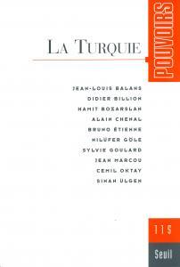 couverture Pouvoirs, n° 115, La Turquie