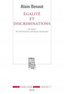 Couverture de l'ouvrage Egalité et Discriminations