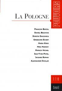 couverture Pouvoirs, n° 118, La Pologne