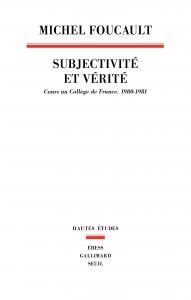 Couverture de l'ouvrage Subjectivité et vérité
