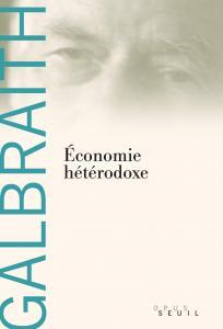 Couverture de l'ouvrage Economie hétérodoxe