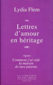 couverture Lettres d'amour en héritage