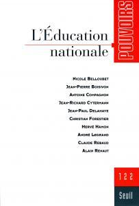 Couverture de l'ouvrage Pouvoirs, n°122,  L'Education nationale
