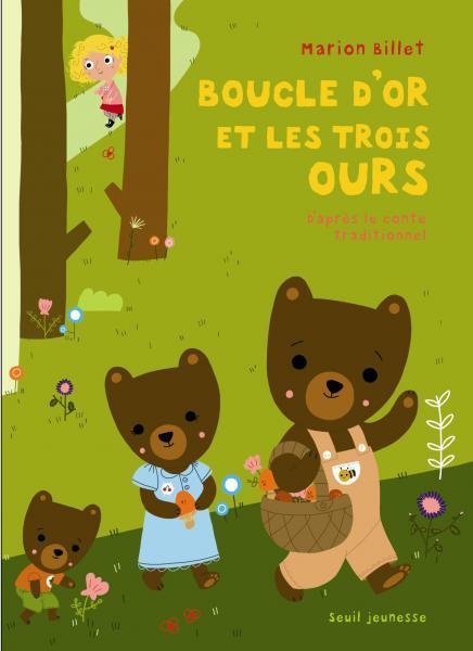 Couverture de l'ouvrage Boucle d'or et les trois ours