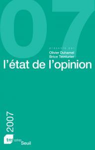 Couverture de l'ouvrage L'Etat de l'opinion (2007)