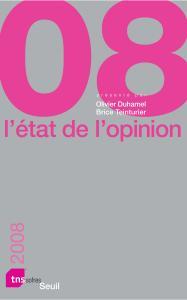 Couverture de l'ouvrage L'Etat de l'opinion (2008)