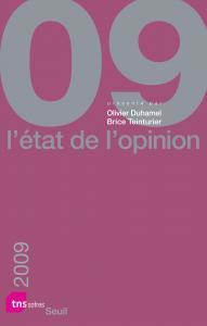 Couverture de l'ouvrage L'État de l'opinion (2009)