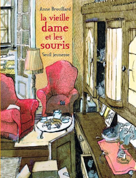 Couverture de l'ouvrage La Vieille dame et les souris