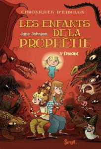 Couverture de l'ouvrage Les Enfants de la prophétie