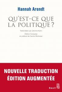 Couverture de l'ouvrage Qu'est-ce que la politique ?