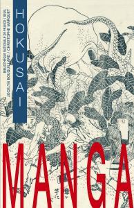 couverture Manga.  Hokusaï